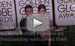 Adam Levine, Behati Prinsloo Introduce First Child