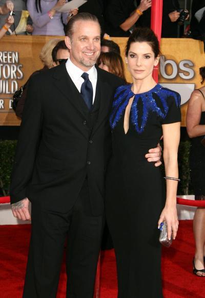 Sandra Bullock and Jesse James Picture