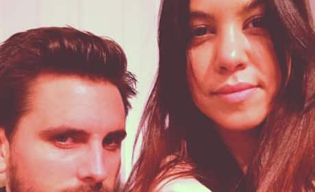 Scott Disick and Kourtney Kardashian Pic