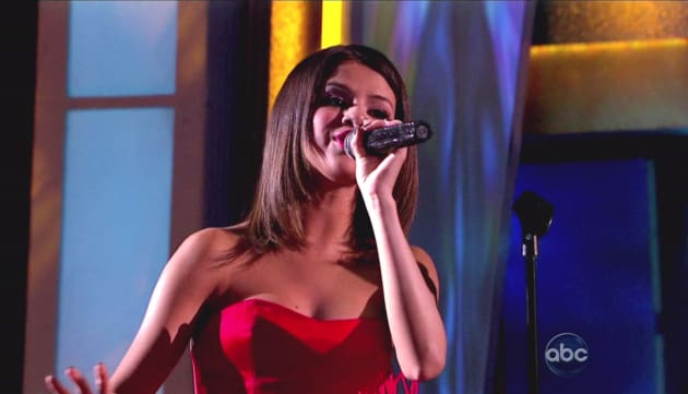 Selena Gomez on DWTS