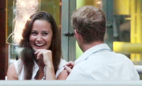 Pippa Middleton and George Percy