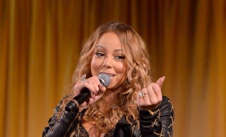 Mariah Carey and Her Ring