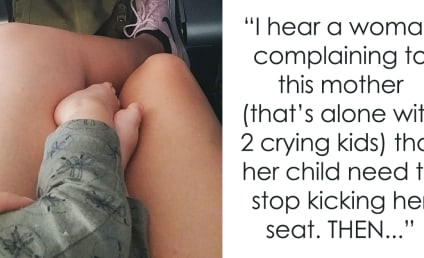 Woman Comforts Crying Child, Proves Not All Airline Passengers Suck