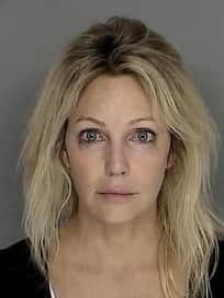 Heather Locklear Mug Shot