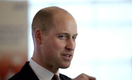 Prince William With Shaved Head