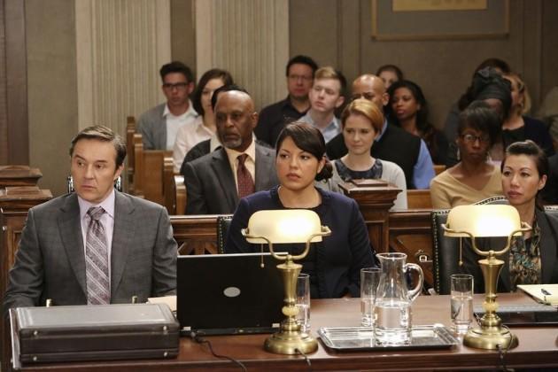 Grey's Anatomy Courtroom Showdown