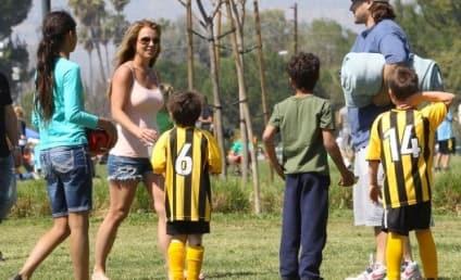 Britney Spears, Kevin Federline Reunite For Kids' Soccer Game