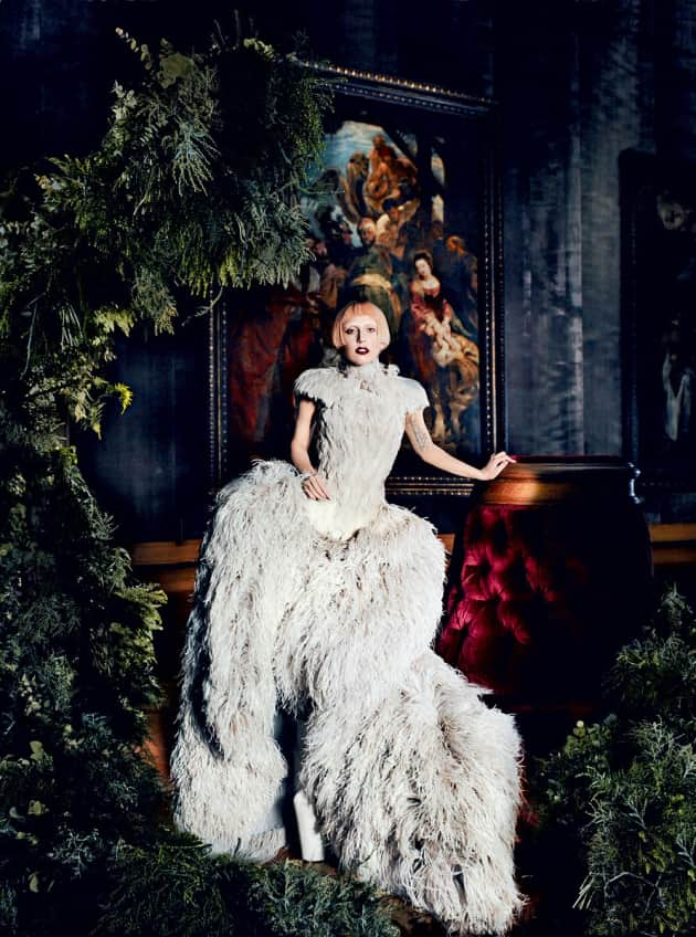 Gaga in Vogue Photo