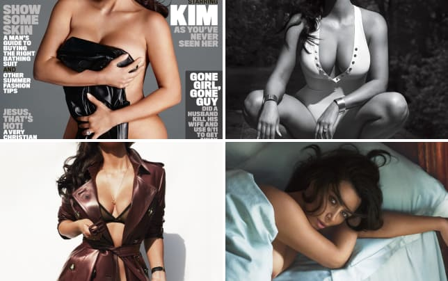 Kim kardashian naked for gq