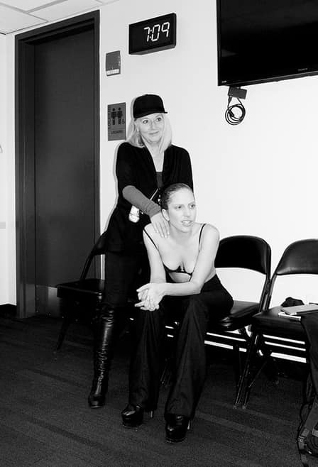 Lady Gaga and Mom