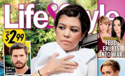 Kourtney Kardashian: Dumped 20 Days After Giving Birth?!?
