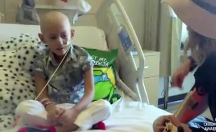 "Brave Cancer Patient Sings ""Fight Song"" with Rachel Platten"