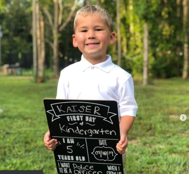 Kaiser enters kindergarten