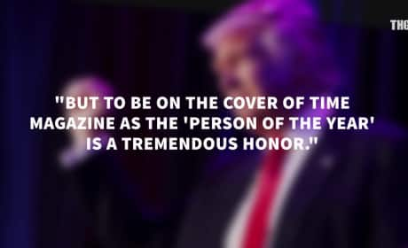 Donald Trump: Time Person of the Year