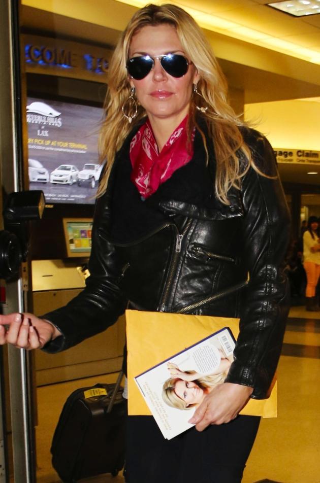 Brandi Glanville in Public