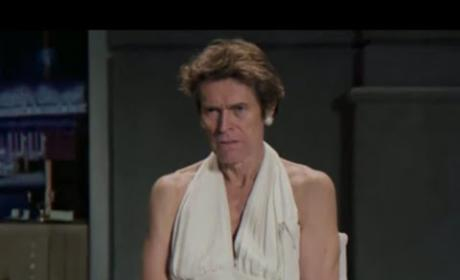 Willem Dafoe Snickers Commercial