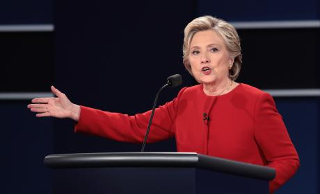 Hillary Clinton Debate Photo