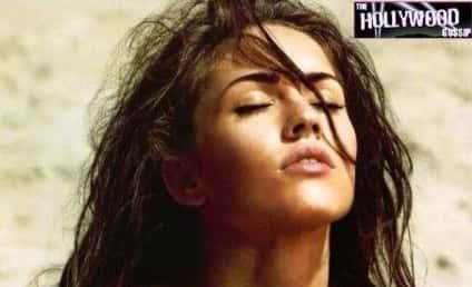 Another Hot Celebrity Photo in Arena Magazine: Megan Fox
