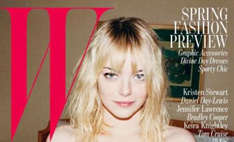 Emma Stone W Cover