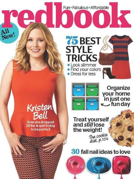 Kristen Bell Redbook Cover