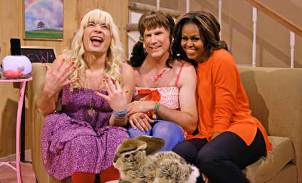 Michelle Obama Appears on The Tonight Show, Dances with Will Ferrell and Jimmy Fallon