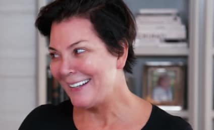 Kim Kardashian Practices Mortician Makeup on Kris Jenner
