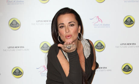 Kiss from Kyle Richards