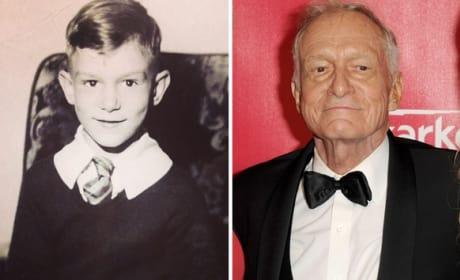 Hugh Hefner as a Kid