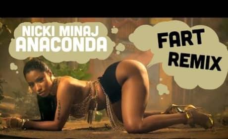 Nicki Minaj Fart Video