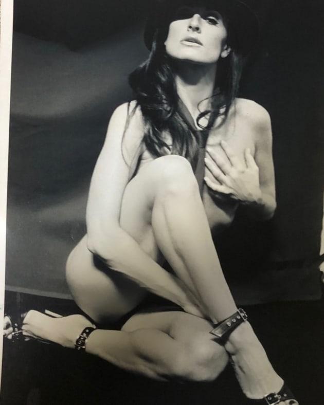 Kyle Richards Posts Risqué Nude Portrait She Feared