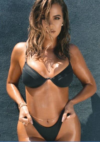 Khloe Kardashian Is In a Bikini