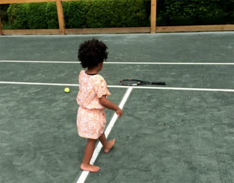 Blue Ivy Tennis Court Photo