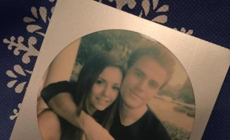 Nina Dobrev and Paul Wesley Photo