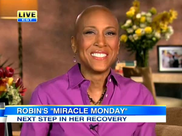 Robin Roberts, No Hair
