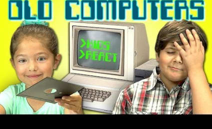 Kids React to Old Computers: I Don't Get the 1970s!