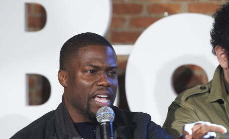 Kevin Hart on the Mic
