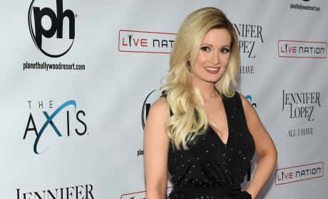 Holly Madison Attends Launch of of Jennifer Lopez's residency 'JENNIFER LOPEZ: ALL I HAVE' at Planet Hollywood Resort & Casino