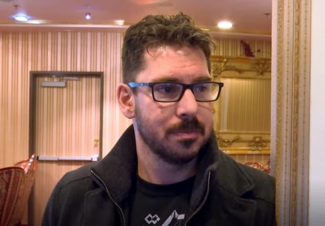 Matt baier in a hotel lobby