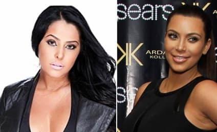 Myla Sinanaj: Obsessed With Kim Kardashian! Getting Plastic Surgery to Look Like Her!