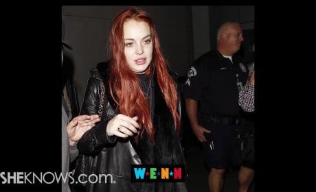 Lindsay Lohan: Moving to London?