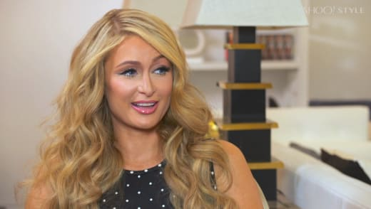 Paris Hilton Interview Pic