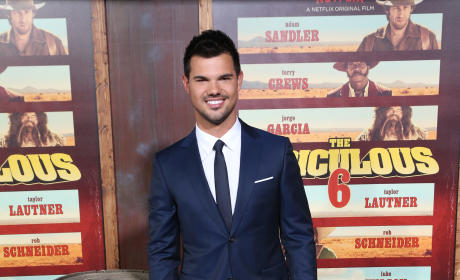 Taylor Lautner At The Premiere Of Netflix's 'The Ridiculous 6'
