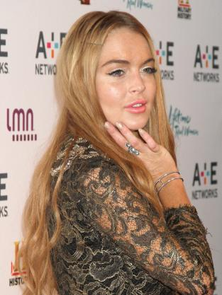 Lindsay Lohan Makeup