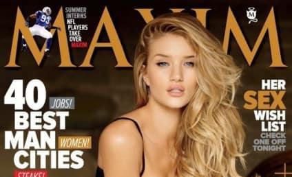 Rosie Huntington-Whiteley on Maxim Cover: Ooga!