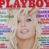 Farrah Fawcett Playboy Cover