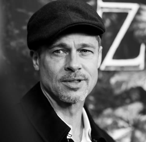 Brad Pitt in Black/White