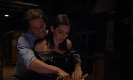 Kevin Wendt and Ashley Iaconetti Reenact Ghost