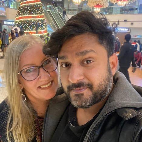 Jenny Slatten and Sumit Singh in 2021