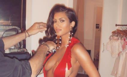 Kim Kardashian Hearkens Back to Hotter Days