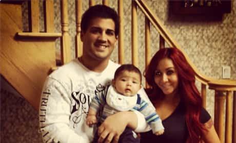 Snooki Family Photo